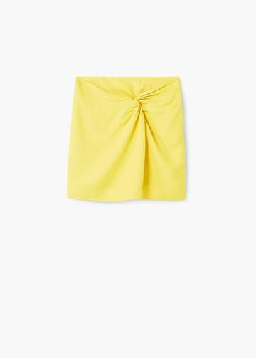 Mango Mango Draped Skirt