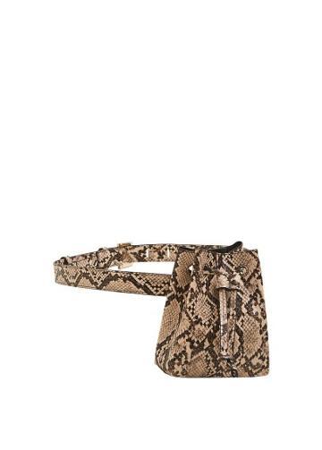 Mango Mango Croc-effect Belt Bag