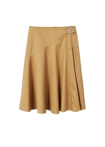 Violeta By Mango Violeta By Mango Buckle Cotton Skirt