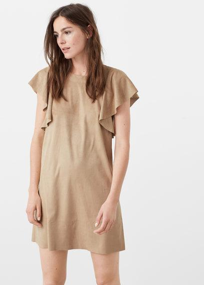 Mango Mango Sleeve Detail Dress