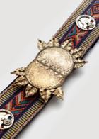 Mango Mango Embroidered Belt