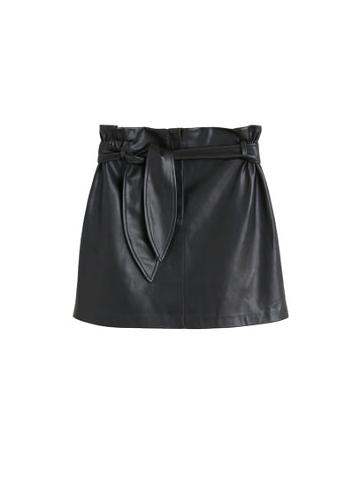 Mango Mango Belt Miniskirt