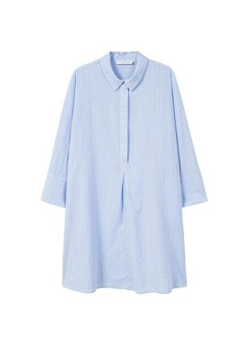 Violeta By Mango Violeta By Mango Shirt Textured Dress