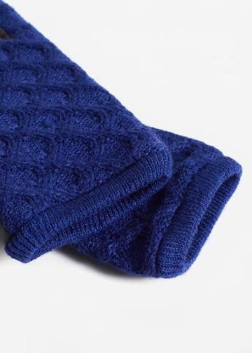Mango Mango Cable-knit Gloves