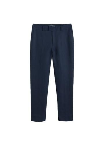 Mango Mango Linen Suit Trousers