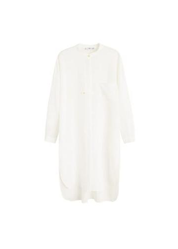 Mango Mango Linen Long Shirt