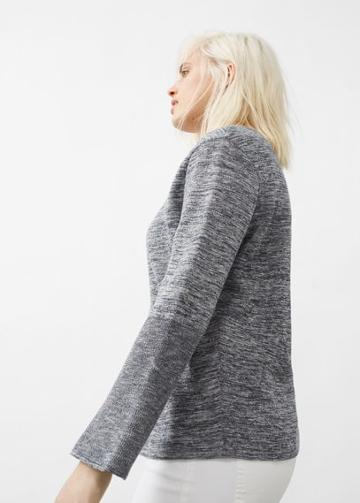Violeta By Mango Violeta By Mango Flared Sleeve Cotton-blend Jumper