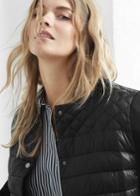 Violeta By Mango Violeta By Mango Mixed Quilted Jacket