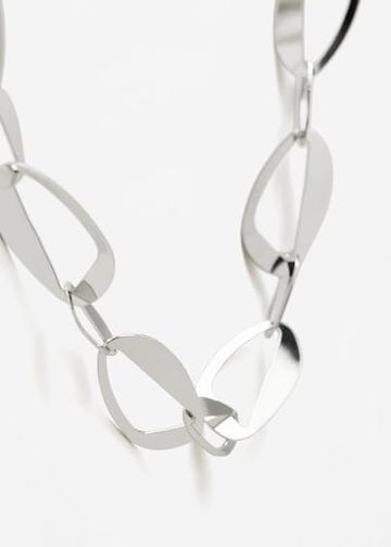 Mango Mango Metal Chain Necklace