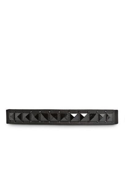 Mango Studded Elastic Belt