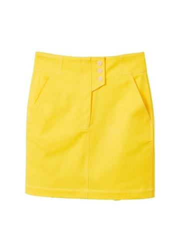 Mango Mango Cotton Buttoned Skirt