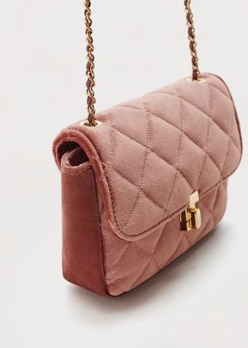 Violeta By Mango Violeta By Mango Velvet Bag