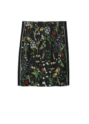 Violeta By Mango Violeta By Mango Floral Print Skirt