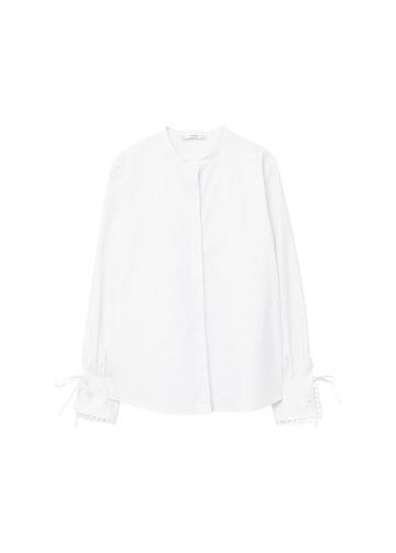 Mango Mango Mao Collar Shirt