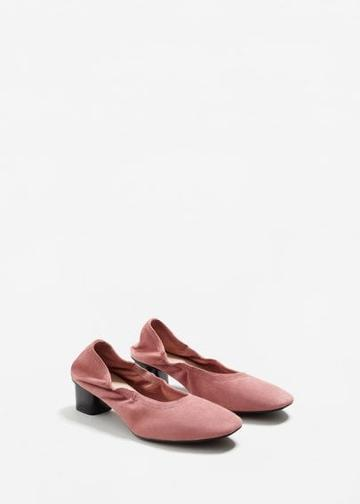 Mango Mango Elastic Leather Shoes