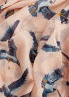 Mango Mango Bird-print Scarf