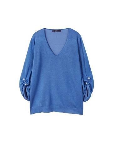 Violeta By Mango Violeta By Mango Piercing Detail Sweater