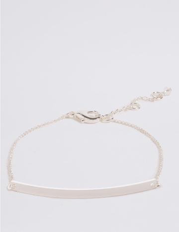 Marks & Spencer Customisable Bracelet Silver