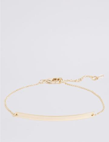 Marks & Spencer Customisable Bracelet Gold