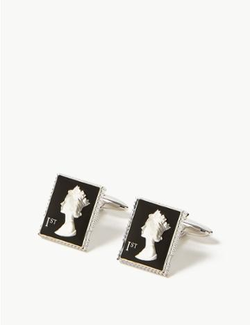 Marks & Spencer Stamp Cufflinks