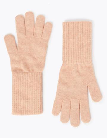 Marks & Spencer Knitted Gloves Blush