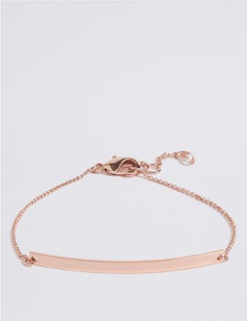 Marks & Spencer Customisable Bracelet Rose