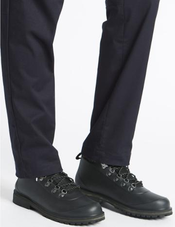 Marks & Spencer Waterproof Lace-up Boots Black