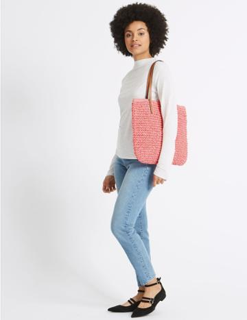 Marks & Spencer Shopper Bag Watermelon