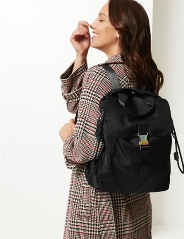 Marks & Spencer Active Backpack Black