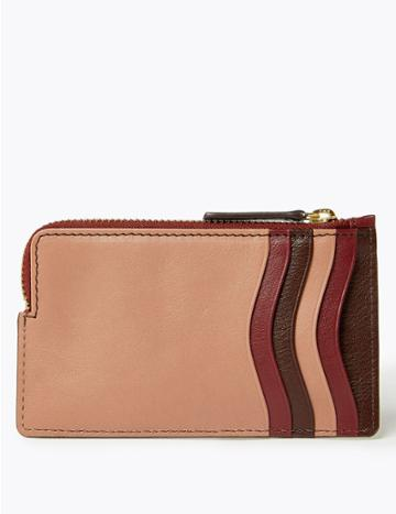 Marks & Spencer Leather Coin Purse Melba Blush