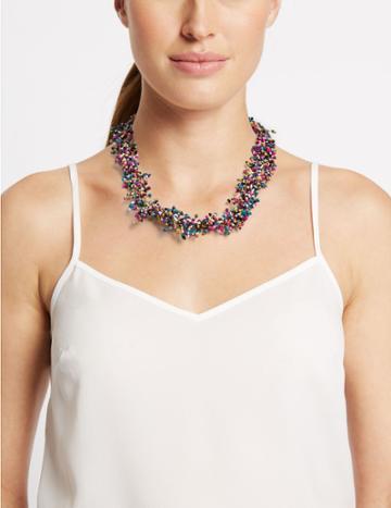 Marks & Spencer Sprinkle Necklace Multi