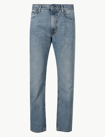 Marks & Spencer Straight Fit Jeans