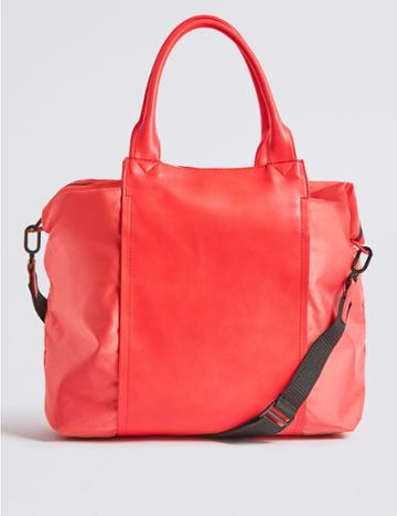 Marks & Spencer Shopper Bag With Stormwear™ Coral