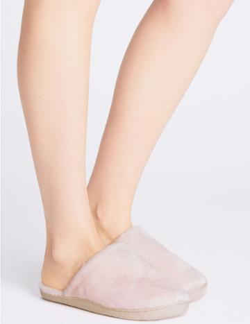 Marks & Spencer Mule Slippers Pink