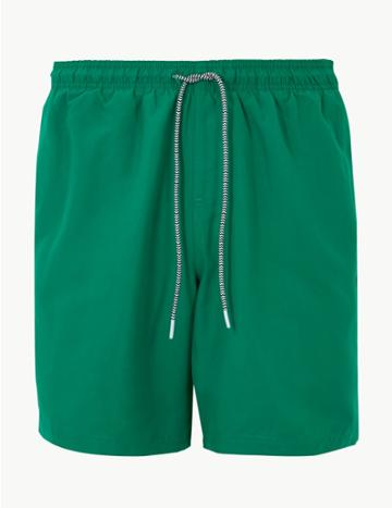 Marks & Spencer Quick Dry Swim Shorts Green