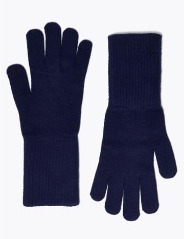 Marks & Spencer Knitted Gloves Teal