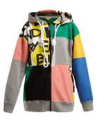 Matchesfashion.com Burberry - Pavna Graffiti Print Hooded Sweatshirt - Womens - Multi