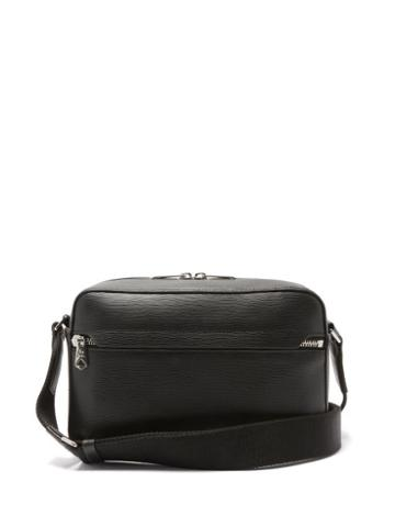 Matchesfashion.com Paul Smith - Embossed-leather Cross-body Bag - Mens - Black