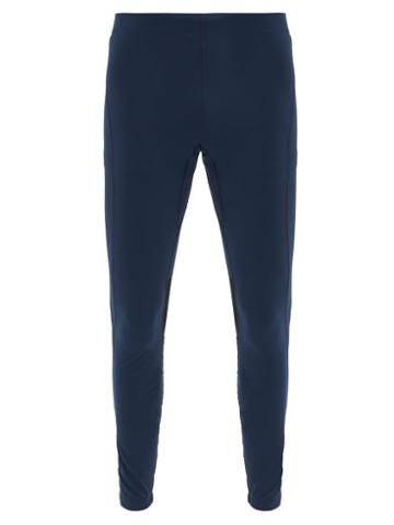 Matchesfashion.com Iffley Road - Windsor 3.0 Stretch-jersey Running Tights - Mens - Navy
