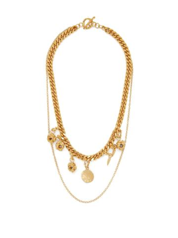 Orit Elhanati Alex 24kt Gold-plated Charm Necklace