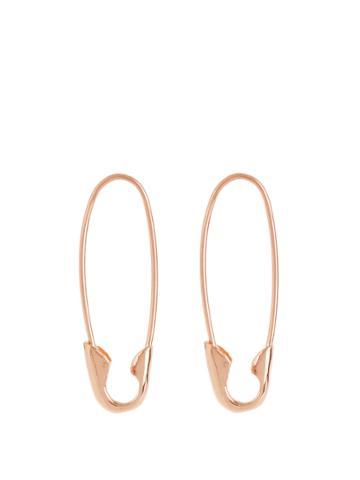 Loren Stewart Rose-gold Earrings