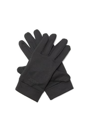 Matchesfashion.com Soar - Silicon-print Thermal Gloves - Mens - Black