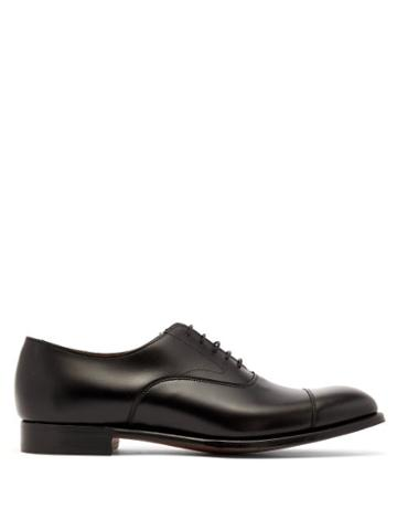 Matchesfashion.com Cheaney - Alfredo Leather Oxford Shoes - Mens - Black