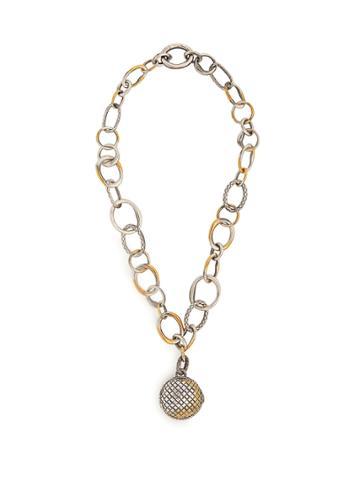 Bottega Veneta Locket Chain Pendant