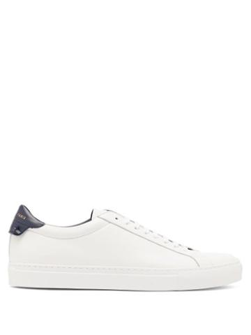 Matchesfashion.com Givenchy - Urban Street Low-top Leather Trainers - Mens - White Multi