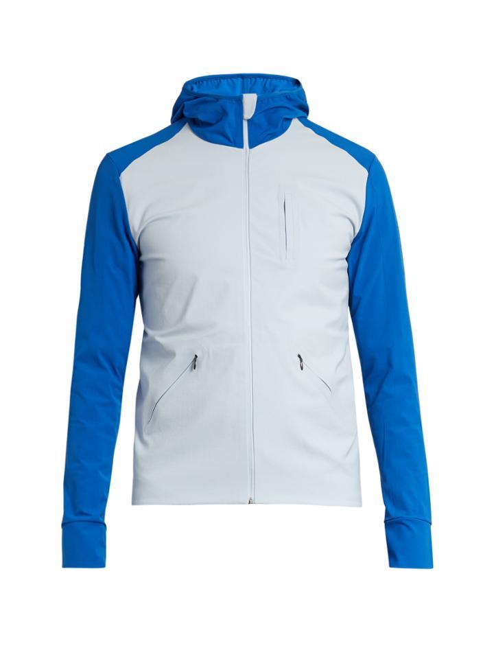 Aeance Hooded Wind Jacket