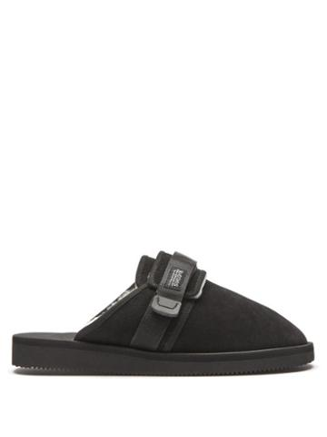 Matchesfashion.com Suicoke - Zavo-mab Suede Mules - Mens - Black