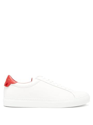 Matchesfashion.com Givenchy - Urban Street Leather Trainers - Mens - White Multi