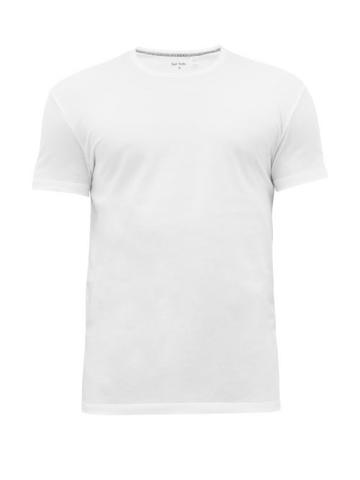 Matchesfashion.com Paul Smith - Classic Cotton Jersey Pyjama Top - Mens - White