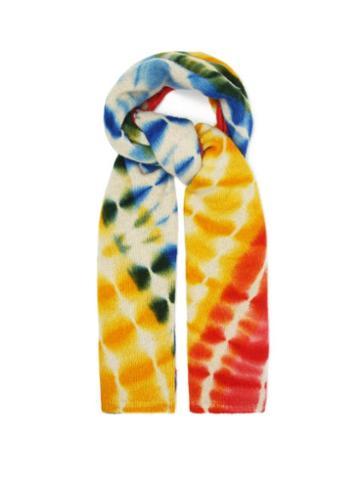 Matchesfashion.com The Elder Statesman - Tie-dye Cashmere Scarf - Womens - Multi